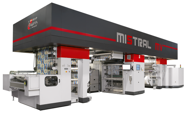 mistral mv uteco coating and laminating machine
