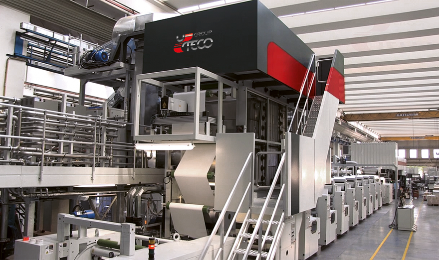 FLEXOGRAPHIC MACHINE | STACK IN LINE | CRYSTAL SIL | UTECO