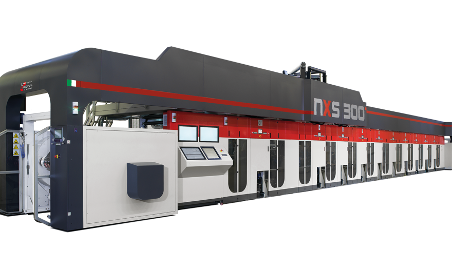 ROTOGRAVURE MACHINE | NXS 300 | UTECO : The perfect synthesis of innovation and technology
