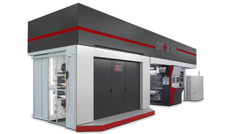 FLEXOGRAPHIC MACHINE | ONYX XS | UTECO: Compact press for short runs and labels printing