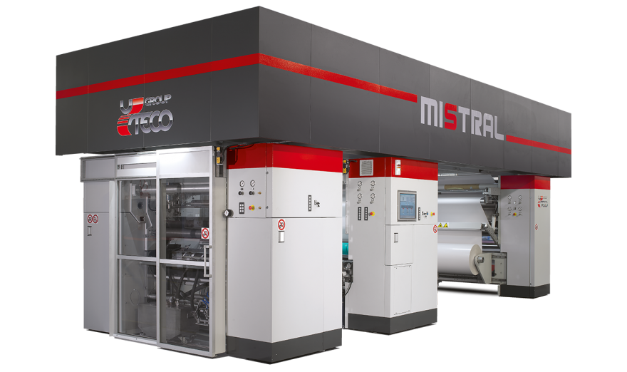 COATING AND LAMINATING MACHINE | MISTRAL | UTECO: Multi-Process System, modern and compact
